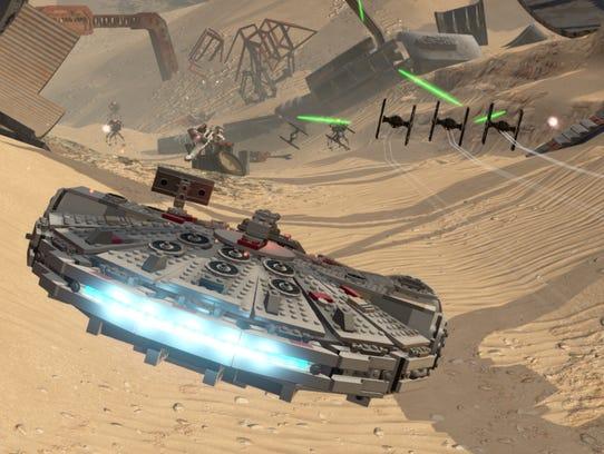 LEGO Star Wars: The Force Awakens.