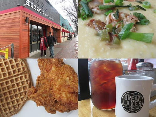 The new Kuzzo's Chicken & Waffles has opened on Livernois