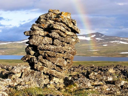 Bering Land Bridge in Nome, Alaska is one of the National