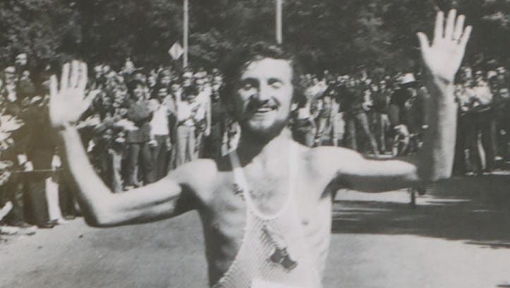 This photo, of Tom Fleming winning his second New York