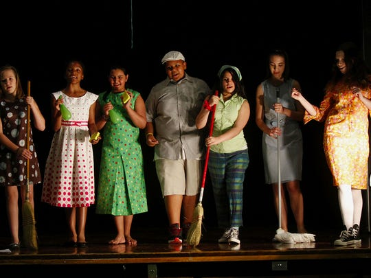 """Myers Middle School staged the play """"People Like Us: A Motown Love Story"""" in May 2011."""