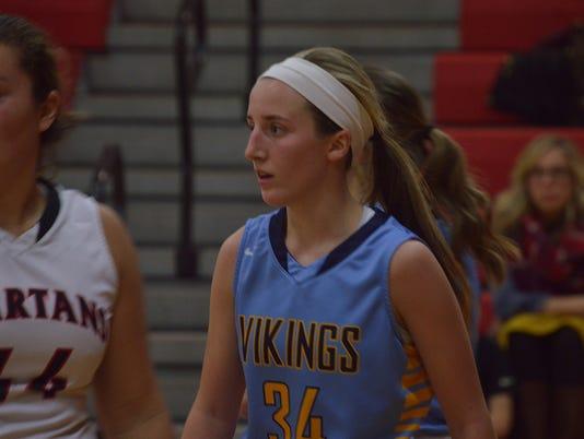 River Valley girls basketball Erica Hyre