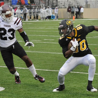 Grambling's Chester Rogers catches a screen pass in