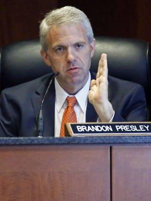 Northern District Public Service Commissioner Brandon Presley.