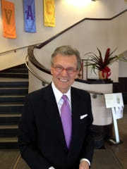Former Sen. Tom Daschle at George McGovern's funeral