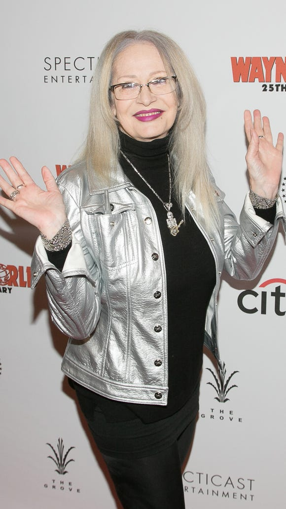'Wayne's World' director Penelope Spheeris spoke at