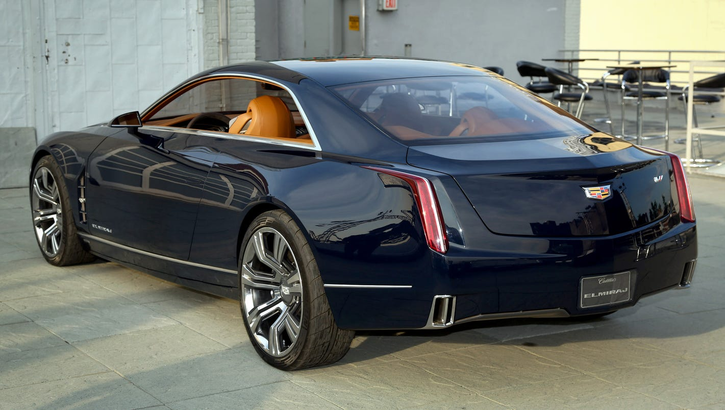 Luxury Vehicle: Cadillac Shows Off Big Elmiraj Luxury Car, Again