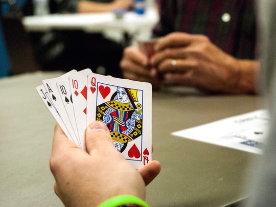 A playable hand, if spades are trump - and count on your partner for one trick.