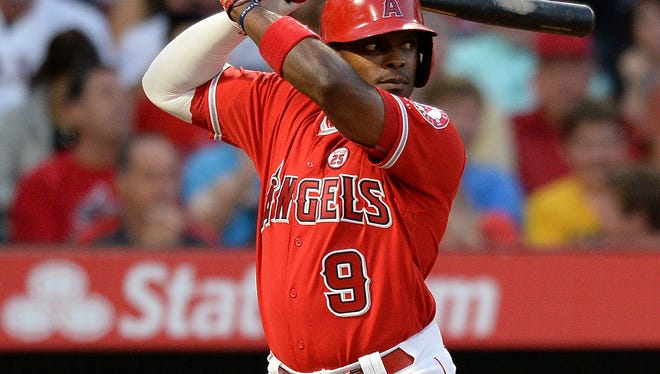 Justin Upton set career highs in home runs and RBI in 2017.