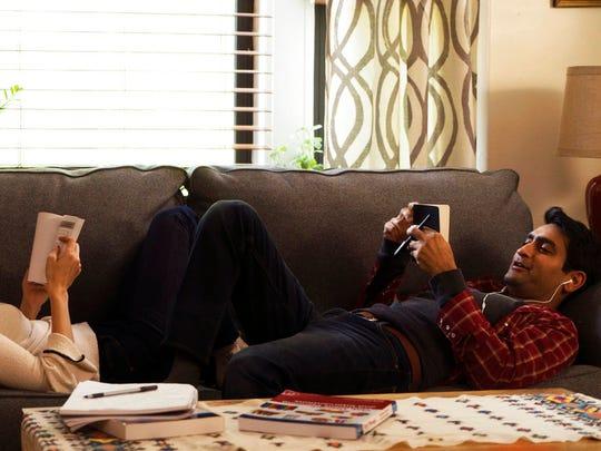 "Kumail Nanjiani and Zoe Kazan star in ""The Big Sick."""