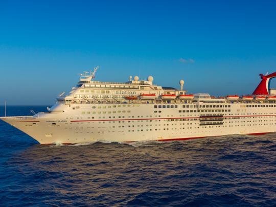 The Elation will sail from Port Canaveral about 78 times a year.