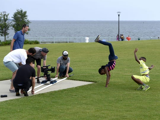 A commercial shot in Pensacola promoting the area to out-of-town potential visitors will air on the BET cable network.