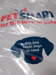 PetSmart donated 40,000 pounds of dog and cat food
