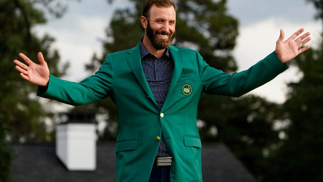 Dustin Johnson's victory in the Masters last November capped a streak in which he has won three times and finished second three times in 11 starts.