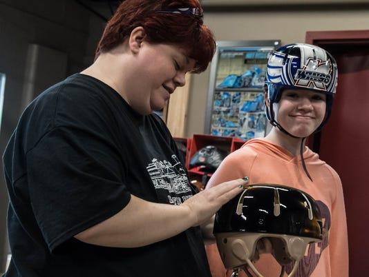 Helmet for Abby 4