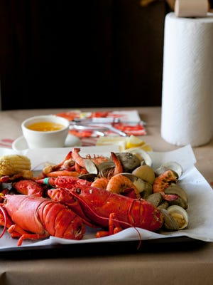 Grabbe's in Westville offers a two-person clambake for $39.95 plus shipping — they'll even send it to your home. If you're feeling adventurous, gather (from left, top to bottom) lobster, hard-shell littleneck clams and shrimp and craft your own.
