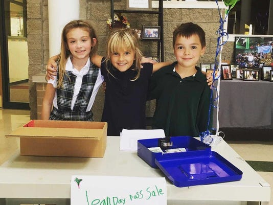 St Joan of Arc Students Raise Funds for Puerto Rico