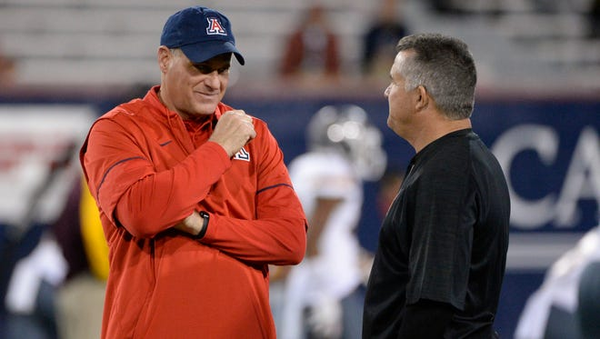 Former ASU football coach Todd Graham as the coach of the Arizona Wildcats? You are kidding, right?