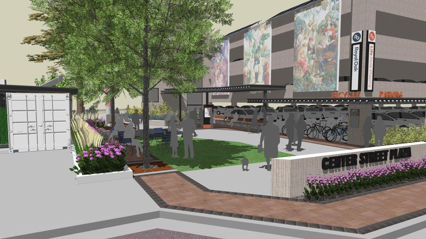 Royal Oak Plans Tech Friendly Smart Park For Downtown