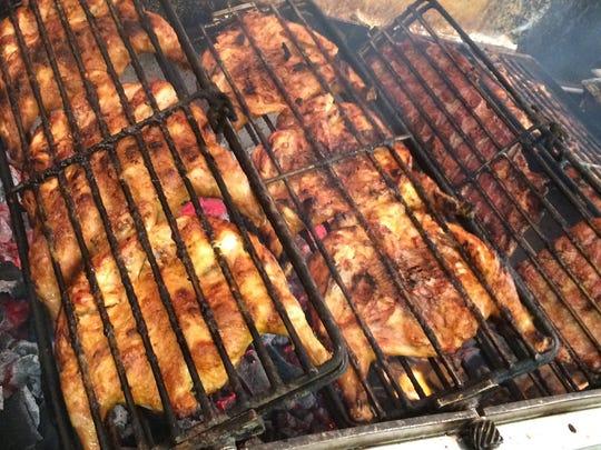 Meats from Dunellen BBQ.