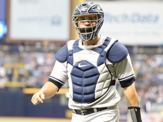 New York Yankees catcher Gary Sanchez