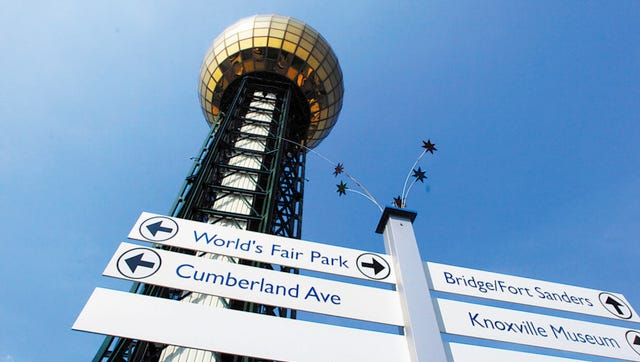 FILE --  The Sunsphere at World's Fair Park.