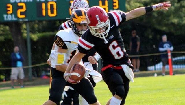 Tyler Strong rushed for 64 yards and a touchdown as Glen Ridge topped Montclair Immaculate, 62-22.