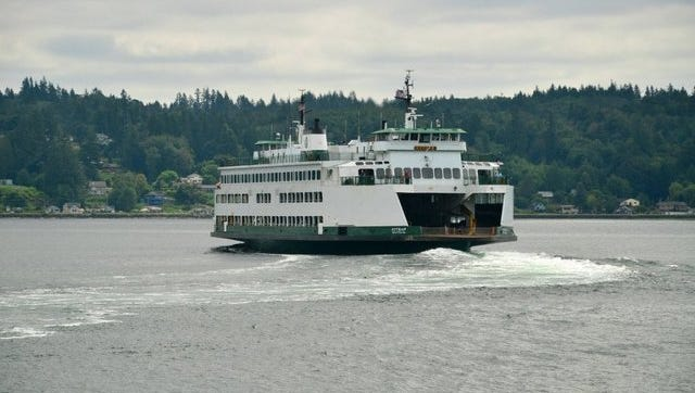 This Kitsap Sun file photo from 2015 shows the MV Kitsap