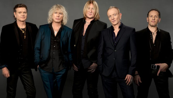 Def Leppard will perform at the Cajundome Feb. 3.