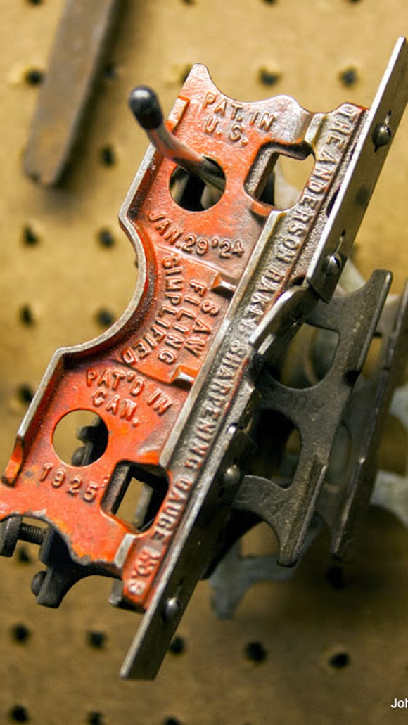 One of Paul's tools was made in 1924 and he still uses it to this day.