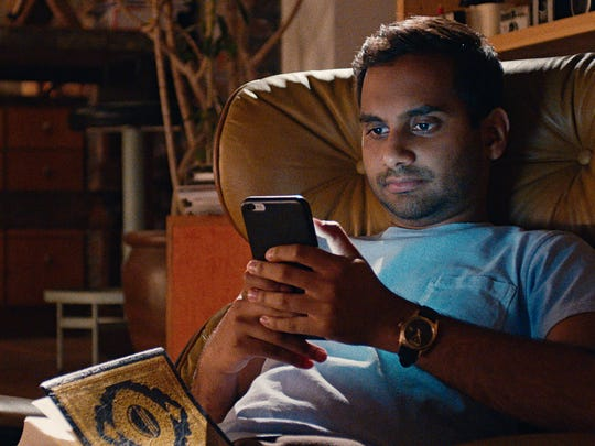 "Aziz Ansari in his Netflix series ""Master of None."""