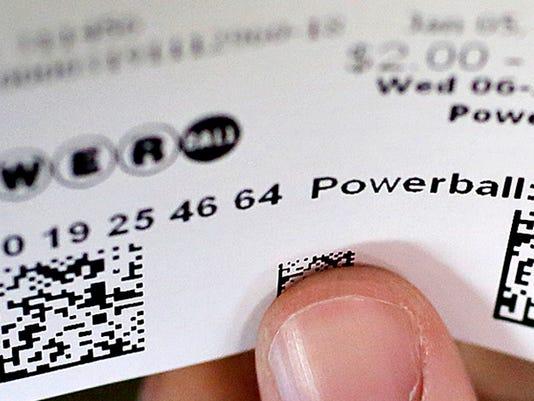 LOGO - Powerball ticket