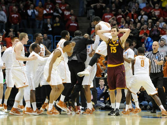 NCAA Basketball: NCAA Tournament-2nd Round-Arizona State vs Texas
