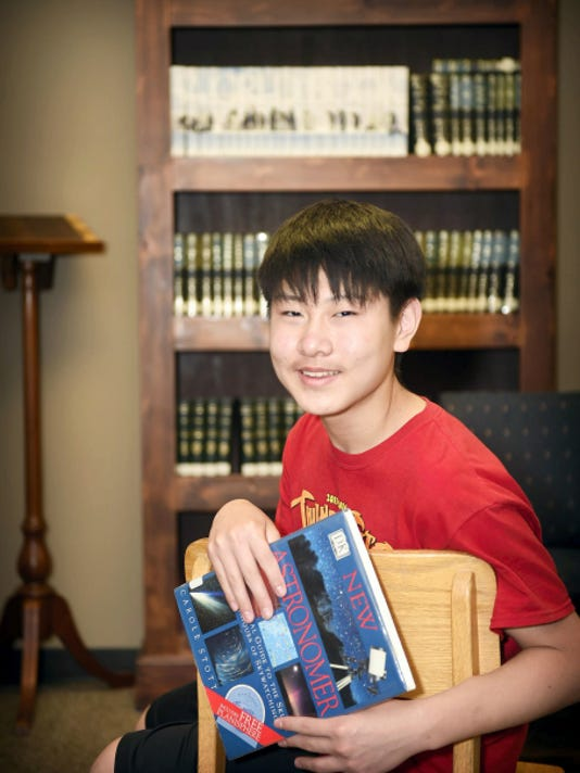 Incoming Palmyra Area High School student Eugene Lee made it to the third round of the National Spelling Bee in Washington, D.C. Eugene said he loves learning and stays busy with a number of activities, including playing the violin, which he started at age five.