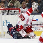 Detroit Red Wings continue slide after loss at Columbus Blue Jackets, 3-2