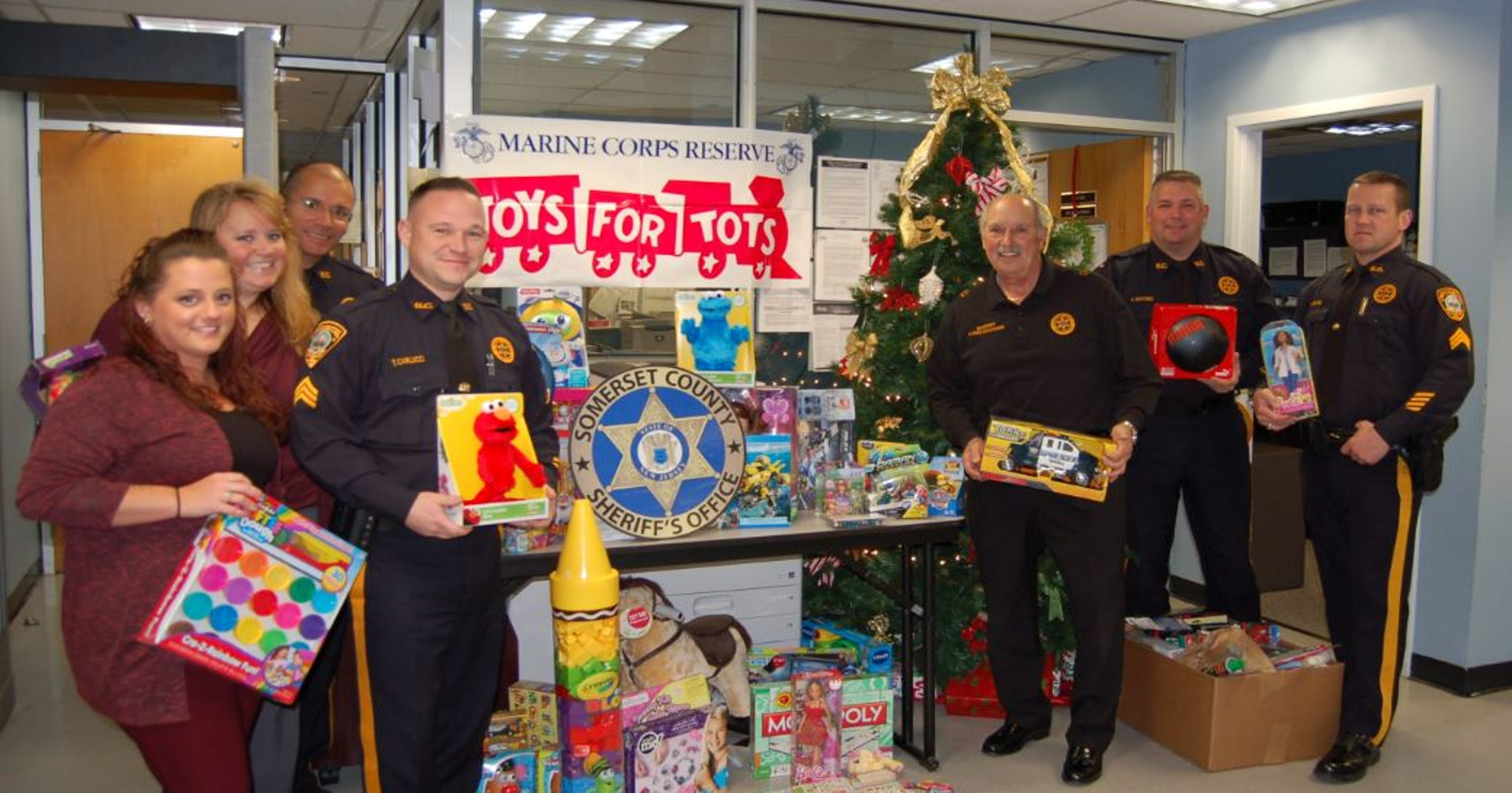 Somerset County Sheriff Thanks Residents Businesses For Toys For