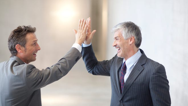 Successful people appreciate others' strides and learn from them. They connect and collaborate with the leaders in their business, and they mentor others who are learning their trade.
