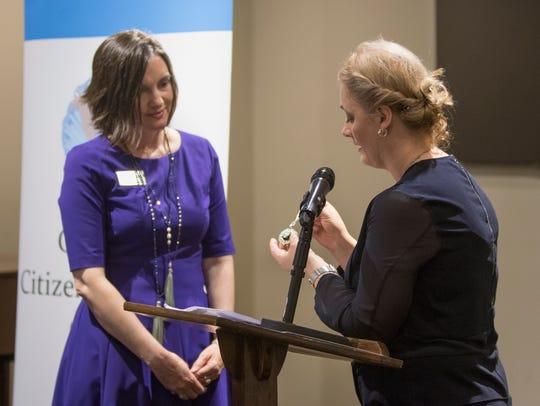 2018 International Women of Courage awardee Dr. Feride