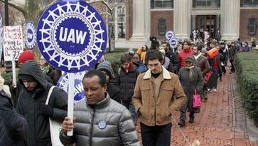 UAW moves beyond auto industry to colleges, expands by nearly 70K members
