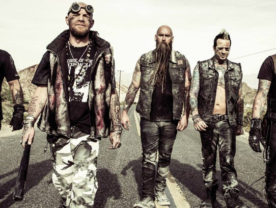 Five Finger Death Punch will bring apocalypse rock