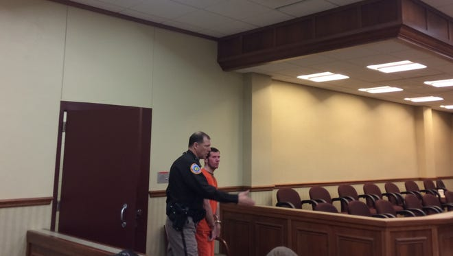 Richard A. Whiting of De Pere appeared in Door County Circuit Court for his initial appearance Thursday morning. Whiting is charged with one count of child enticement as party to a crime.