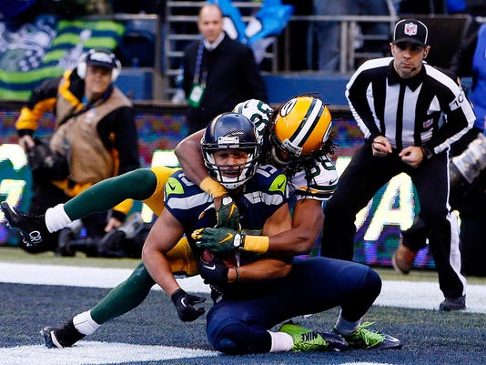 ***BESTPIX*** NFC Championship - Green Bay Packers v Seattle Seahawks