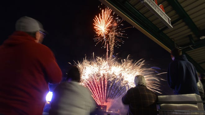 Fireworks will cap tonight's Aces game.