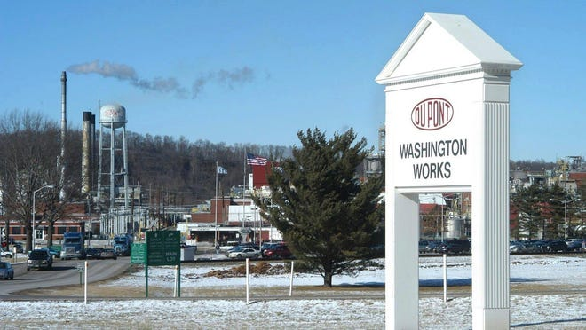 DuPont's Washington Works plant in Parkersburg, West Virginia. A federal judge rejected DuPont's motion for a new trial in the case.