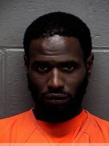 Martel Chisolm, casino robbery suspect.