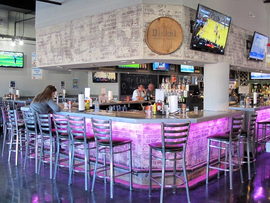 The original Pelican Larry's Raw Bar & Grill is at