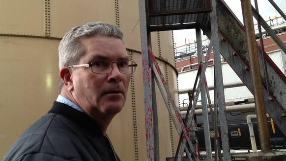 John Cliff, JBS plant manager in Butchertown.