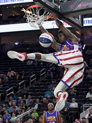"Angelo ""Spider"" Sharpless of the Harlem Globetrotters"