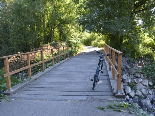 Best family-friendly bike rides near Salem. No. 2 — Willamette Mission State Park.