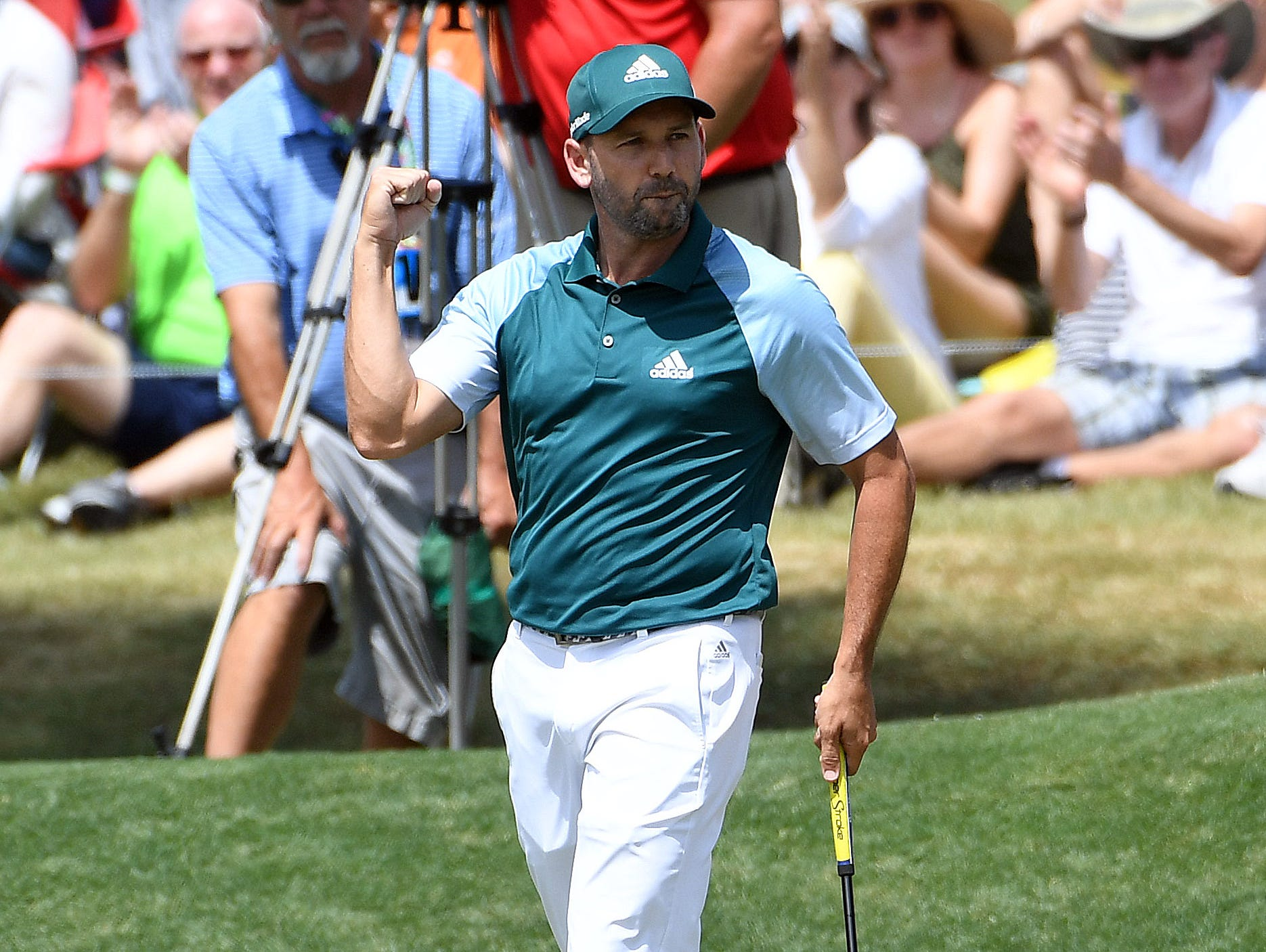 british open tee times  sergio garcia out with jason day